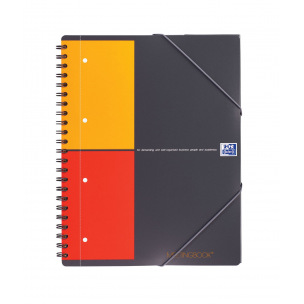 Cahier à spirales Oxford International MEETINGBOOK - quadrillé 5 x 5 mm