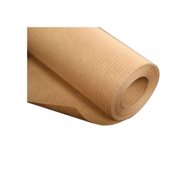 Papier kraft 90 g - rouleau 70 cm x 5 m - brun