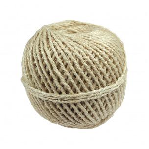 Corde triple fil en fibres de sisal - bobine 500 g