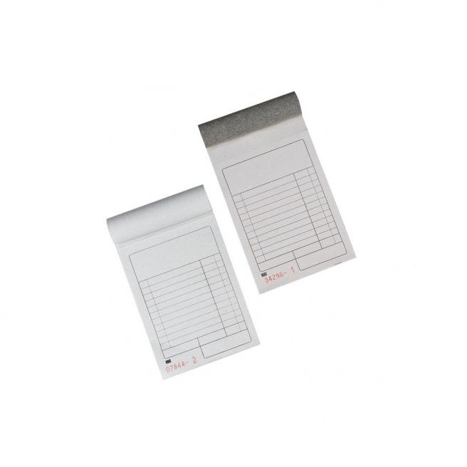 Bloc de caisse Gallery avec dos carton - 10 x 16 cm