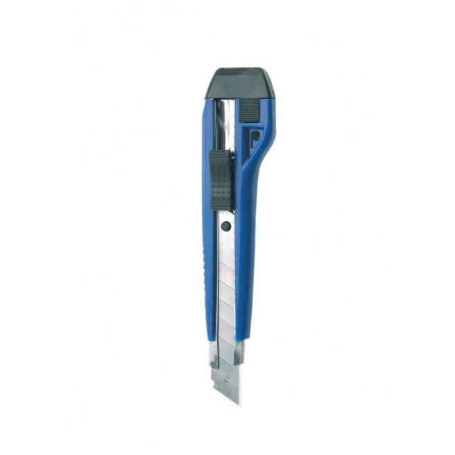 Cutter autobloquant - corps plastique - lame 18 mm