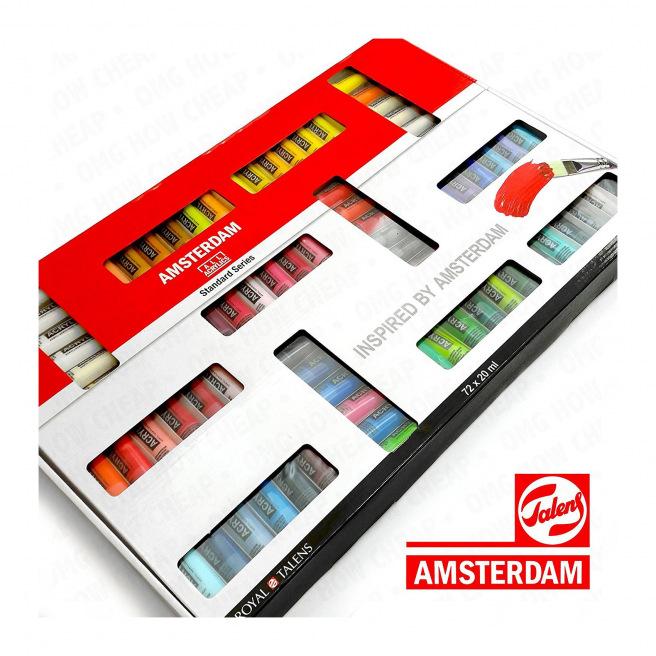 Peinture acrylique Talens AMSTERDAM Standard Series