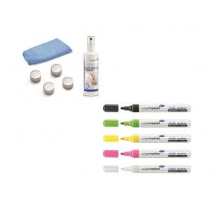 Kit d'accessoires pour tableau en verre Legamaster