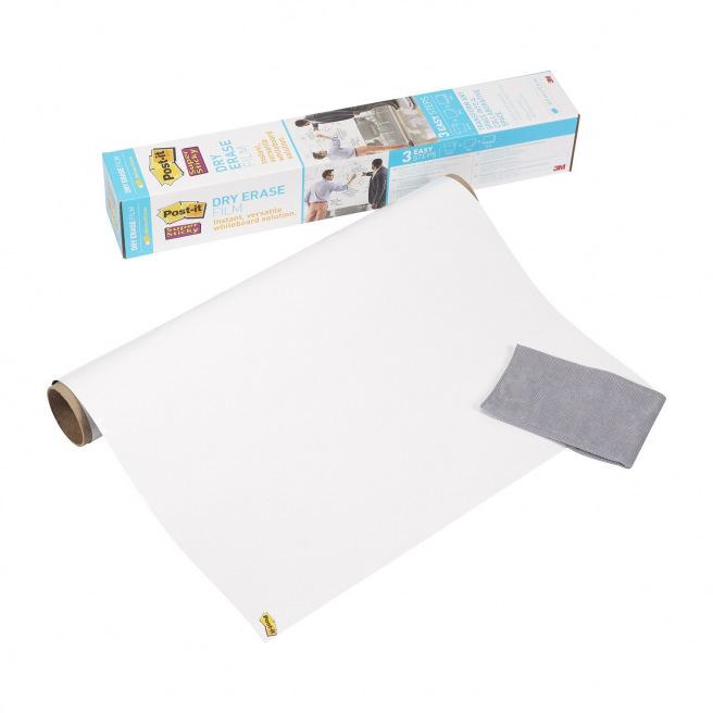 Tableau blanc adhésif Post-it en rouleau