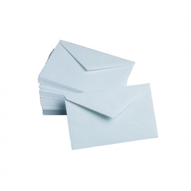 Enveloppes blanches Gallery - 9 x 14 cm - paquet de 50