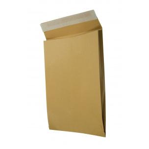 Enveloppe sac brune à soufflet