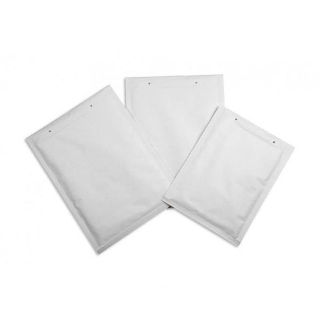 Enveloppe sac blanche à bulles d'air