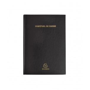 Agenda journalier perpétuel de caisse Exacompta - 14,8 x 21 cm