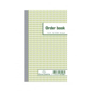 Order book 50 feuillets autocopiants Exacompta