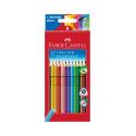Crayons de couleur Faber-Castell COLOUR GRIP - étui de 12