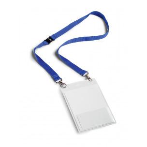 Pochette porte-badge Durable 105 x 148 mm avec lacet textile
