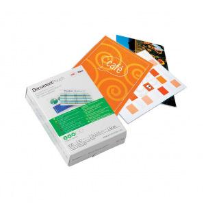 Pochettes de plastification GBC - 2 x 125 microns - paquet de 100
