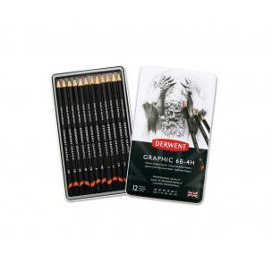 Crayon graphite Derwent GRAPHIC