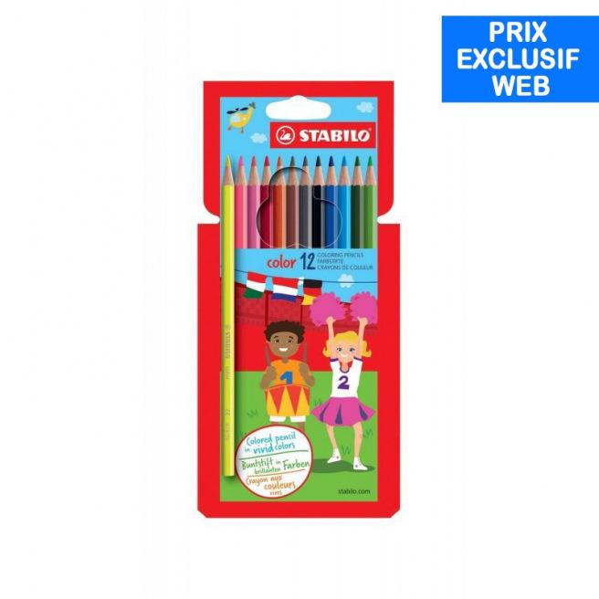Crayons de couleur Stabilo COLOR