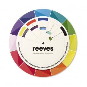 Roue chromatique acrylique Reeves