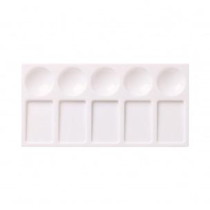 Palette plastique Reeves rectangulaire
