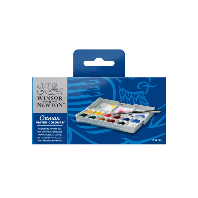 Set d'aquarelle Winsor & Newton COTMAN