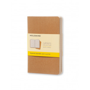 Cahier Moleskine JOURNAL - set de 3