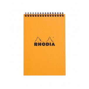 Bloc-notes à spirales RHODIA - quadrillé 5 x 5 mm