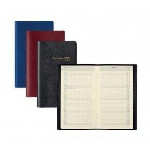 Agenda Brepols PLAN-O-RAMA - 9,2 x 16 cm - 1 mois sur 2 pages