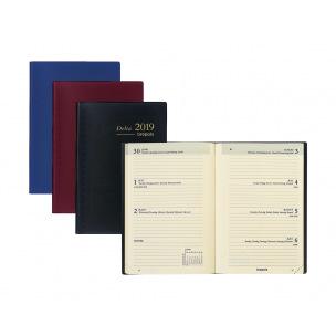 Agenda Brepols DELTA - 8,1 x 12 cm - 1 semaine sur 2 pages