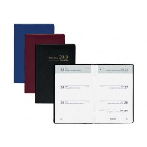 Agenda Brepols ARMADA - 7,1 x 10,2 cm - 1 semaine sur 2 pages