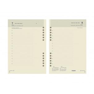 Recharge organiser Brepols - 1 jour par page