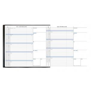 Agenda Quo Vadis MINIBEST - 7,5 x 14 cm - 1 mois par page