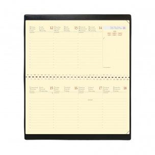 Agenda Quo Vadis PLANITAL - 8,8 x 17 cm - 1 semaine sur 2 pages