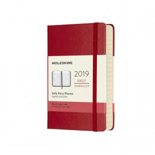 Agenda Moleskine - Pocket 9 x 14 cm - 1 jour par page