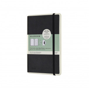 Agenda Moleskine Smart Diary/Planner - Large 13 x 21 cm - 1 semaine sur 2 pages avec notes