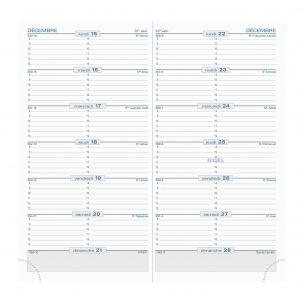 Agenda Exacompta SL 17 - 9 x 17,5 cm - 1 semaine par page