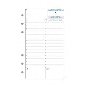 Recharge organiser Exacompta EXATIME 17 - 1 jour par page