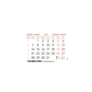 Bloc calendrier mensuel