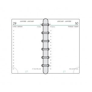 Recharge organiser Mignon TK12 - 7,3 x 12 cm - 1 jour par page