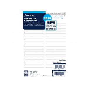 Recharge organiser Filofax - 1 jour par page
