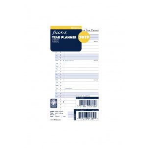 Recharge organiser Filofax - 1 mois par page
