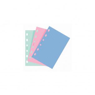 Recharge feuilles de notes pour organiser Filofax
