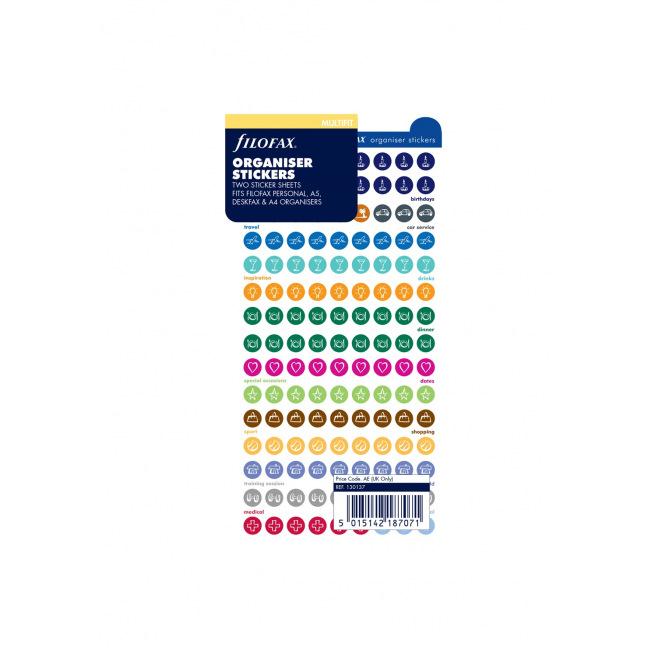 Filofax 130137 Stickers dorganisation