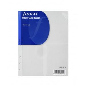 Pochette pour organiser Filofax CARTES DE CREDIT