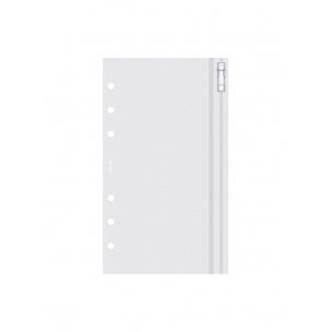 Pochette enveloppe zippée pour organiser Filofax