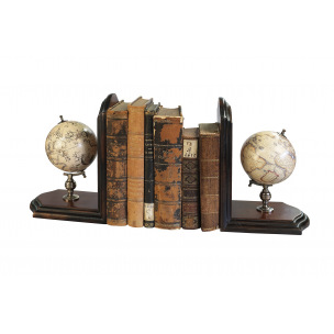 Serre-livres Authentic Models GLOBES MERCATOR