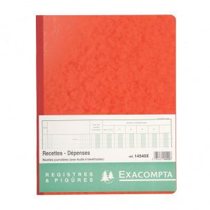 Registre Exacompta 14540X - RECETTES JOURNALIÈRES