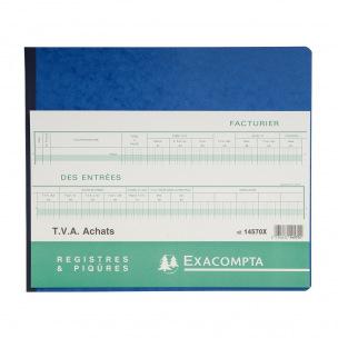 Registre Exacompta 14570X - TVA ACHATS