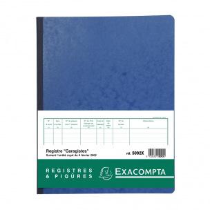 Registre Exacompta 5092X - GARAGISTES