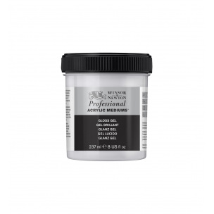 Gel brillant Winsor & Newton Acrylique PROFESSIONAL - 237 ml