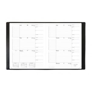 Agenda scolaire Quo Vadis LE PRINCIPAL - 18 x 24 cm - 1 semaine sur 2 pages