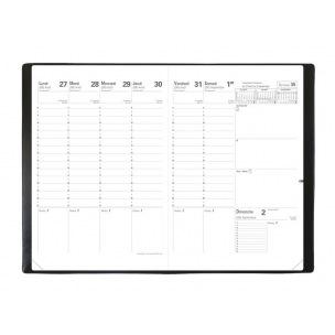Agenda scolaire Quo Vadis PLANNING SD - 16 MOIS - 18 x 24 cm - 1 semaine sur 2 pages