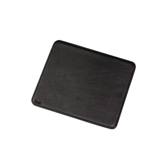 Tapis de souris en cuir De Laforêt - 21 x 18 cm