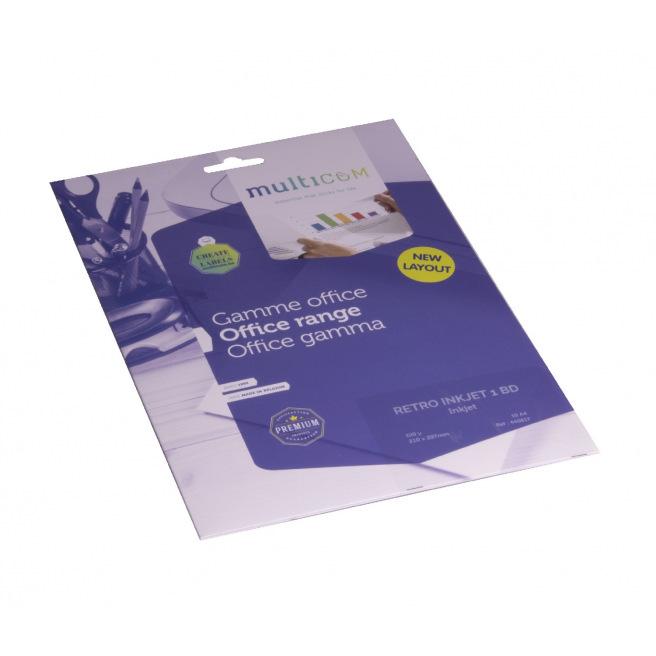 Transparents de rétroprojection Multicom jet d'encre - paquet de 10 feuilles A4